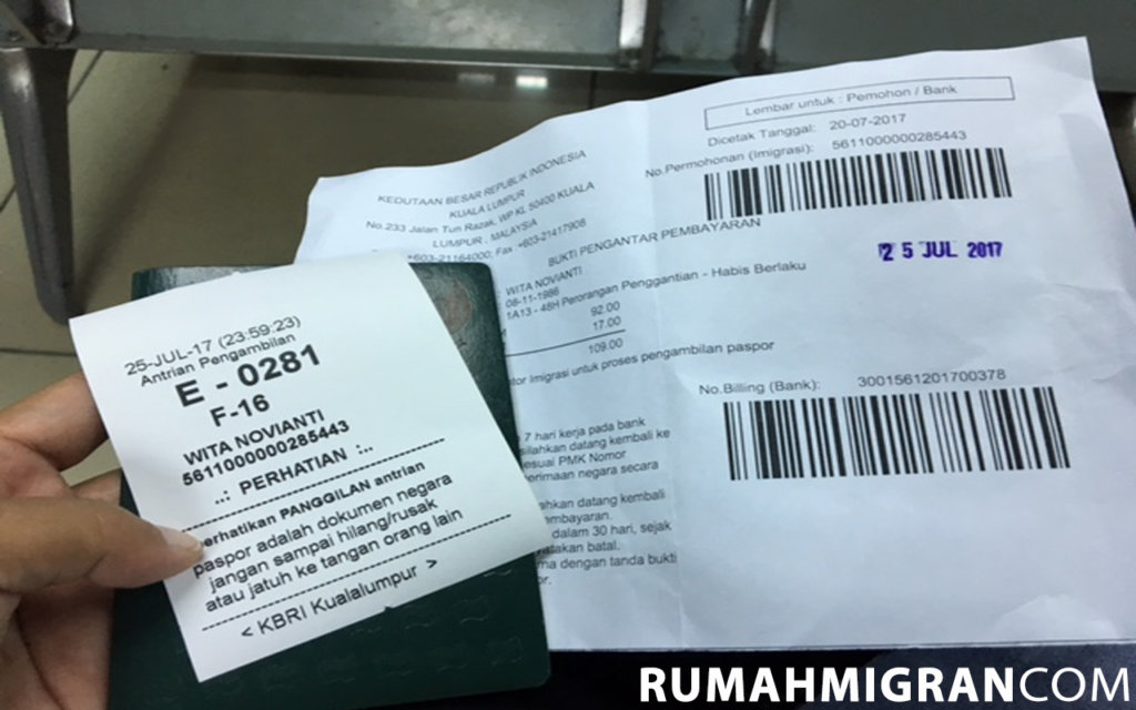 Laporan paspor hilang