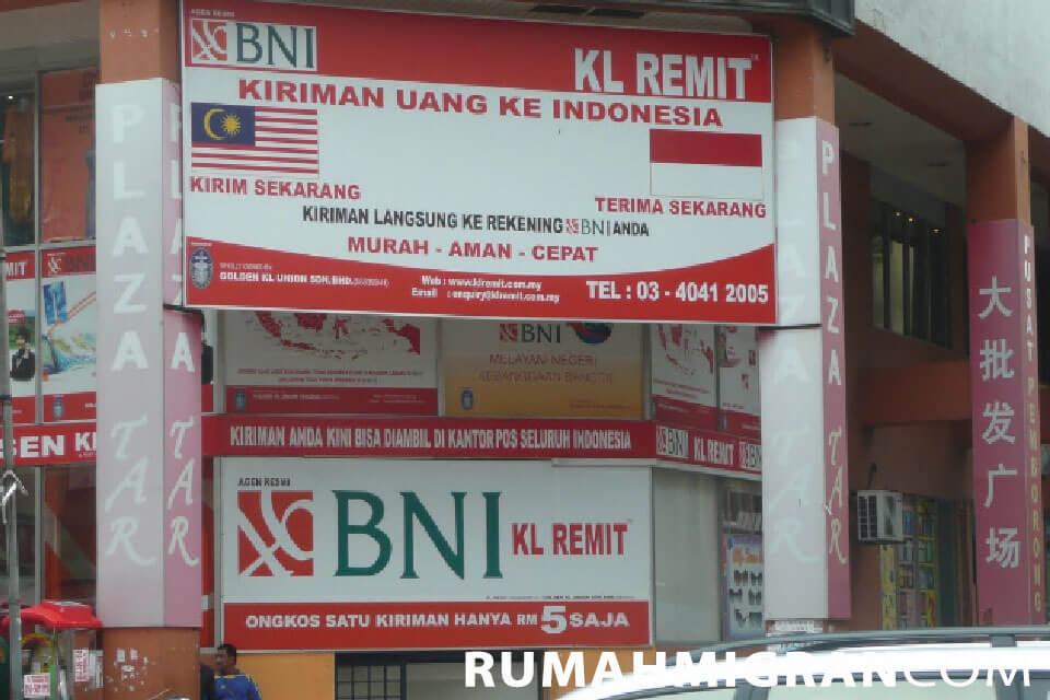 Transfer Uang dari Malaysia