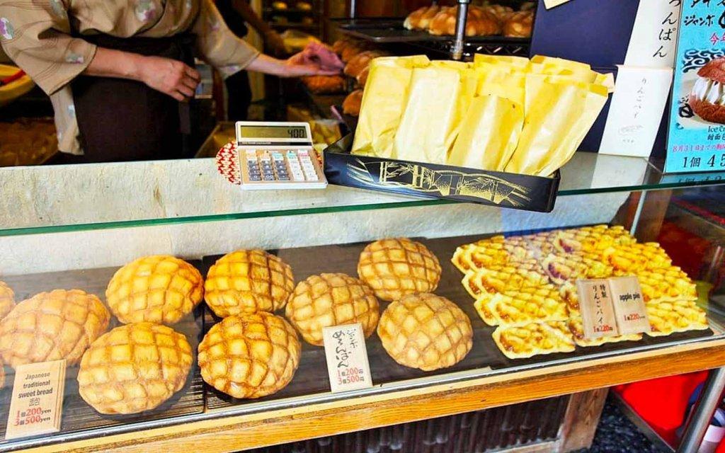 Roti Jepang Melon Pan