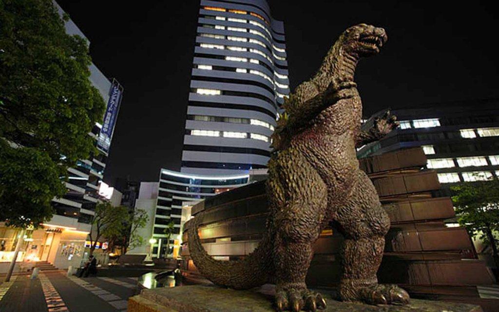 Karakter Godzilla Nyata Jepang